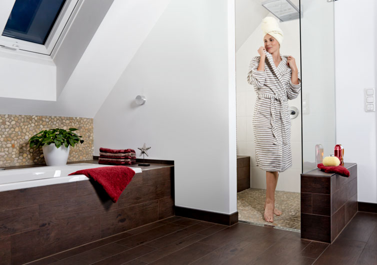 fu bodentemperierung mit aeg thermo boden im bad. Black Bedroom Furniture Sets. Home Design Ideas