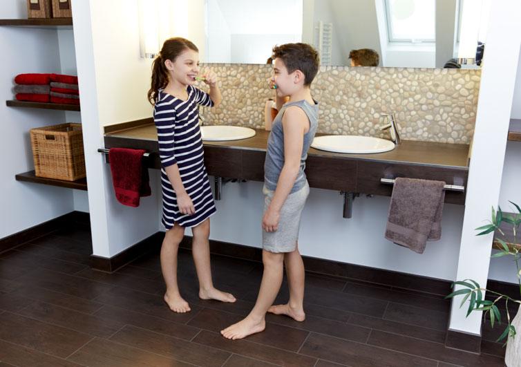 Heizmatte Fußboden Bad ~ Fußbodentemperierung mit aeg thermo boden im bad
