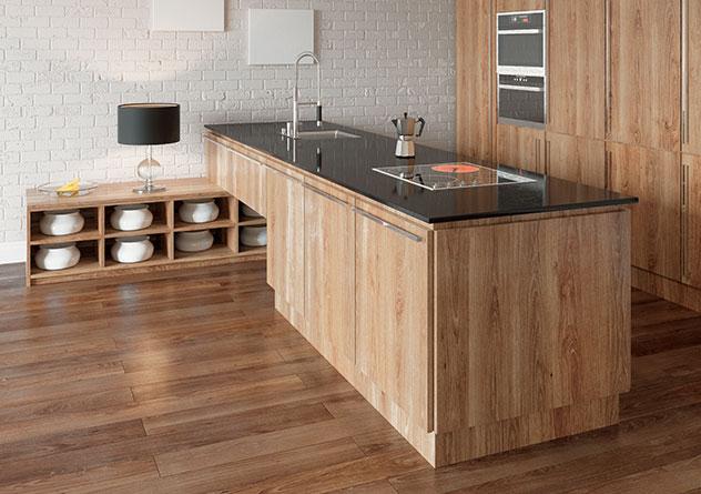 fu bodentemperierung mit aeg thermo boden in der k che. Black Bedroom Furniture Sets. Home Design Ideas