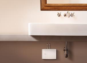 ratgeber warmwasser energiesparende warmwasserbereitung. Black Bedroom Furniture Sets. Home Design Ideas