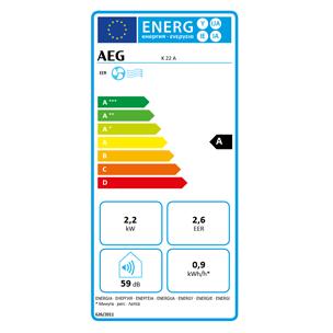 Mobile Klimageräte von AEG mit Energieeffizienzklasse A