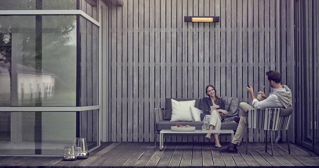 infrarot heizstrahler f r terrasse balkon und wintergarten. Black Bedroom Furniture Sets. Home Design Ideas